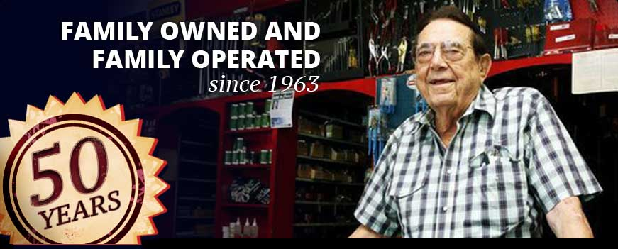 Family owned and family operated since 1963